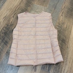 Uniqlo down lightweight compact packable vest